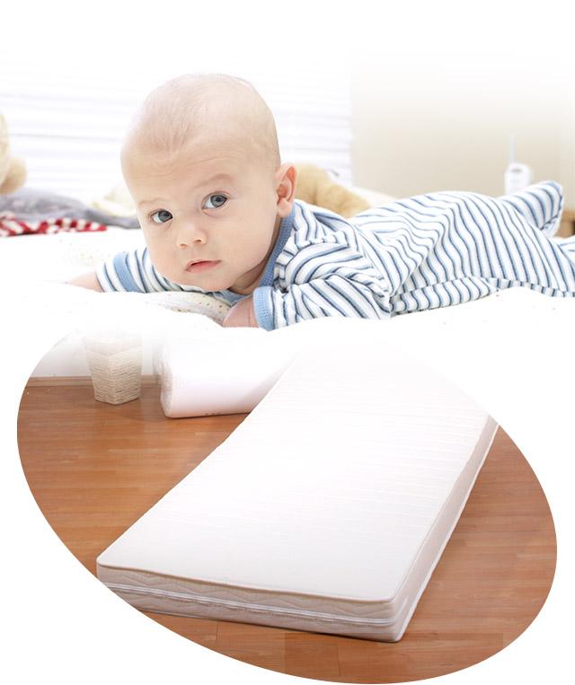 komplett set kindermatratze 60x120 cm n sseschutz auflage matratzen. Black Bedroom Furniture Sets. Home Design Ideas